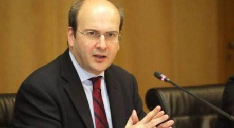 Τους βασικούς άξονες της ενεργειακής πολιτικής της κυβέρνησης παρουσίασε ο Κ. Χατζηδάκης