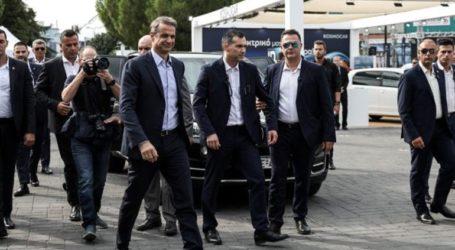 Τον πρωθυπουργό Κ. Μητσοτάκη υποδέχτηκε στο Περίπτερο της Περιφέρειας Κεντρικής Μακεδονίας ο Α. Τζιτζικώστας