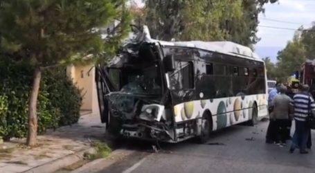 Τροχαίο με λεωφορείο του ΟΑΣΑ στο Μενίδι
