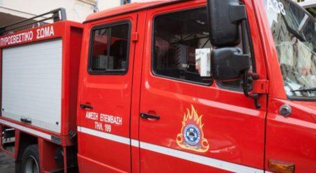Φωτιά στην περιοχή Μάρμαρο της Λέσβου