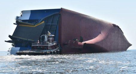 Αίσιο τέλος στην επιχείρηση διάσωσης τεσσάρων ναυτικών από φορτηγό πλοίο