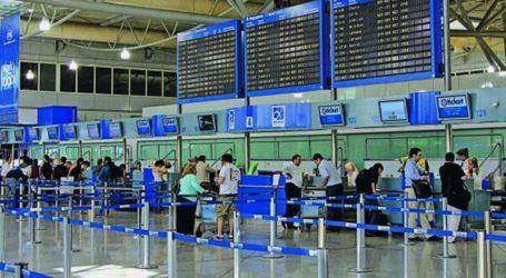 Εκτοξεύθηκε η επιβατική κίνηση στο «Ελ. Βενιζέλος» τον Αύγουστο