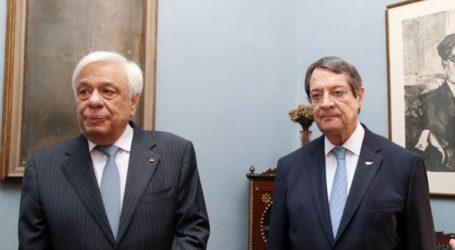 Τηλεφωνική επικοινωνία Πρ. Παυλόπουλου-Ν.Αναστασιάδη για τις εξελίξεις στο Κυπριακό