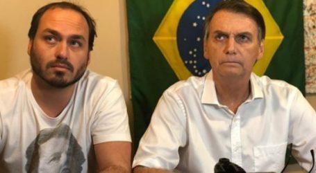 Ο γιος του Μπολσονάρου αμφισβητεί εάν η «αλλαγή» στη χώρα μπορεί να επιτευχθεί «δια της δημοκρατικής οδού»