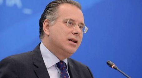 Με τους πρέσβεις των κρατών-μελών της Ε.Ε. στην Ελλάδα συναντήθηκε ο Γ. Κουμουτσάκος