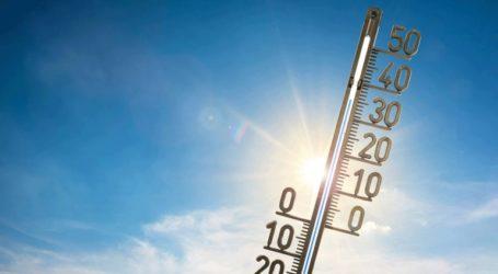 Θερμοκρασίες έως 32 βαθμούς και θυελλώδεις άνεμοι έως 9 μποφόρ την Παρασκευή