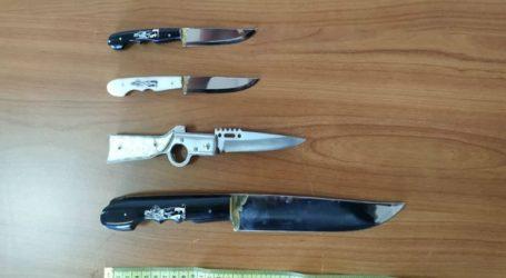 Συνελήφθη άνδρας στο λιμάνι του Ηρακλείου φορτωμένος με μαχαίρια
