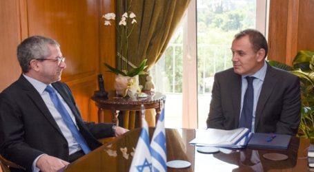 Συνάντηση του ΥΕΘΑ Νικόλαου Παναγιωτόπουλου με τoν Δντή Αμυντικής Πολιτικής του Ισραήλ Zohar PALTI