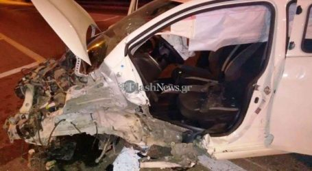 Απίστευτο τροχαίο ατύχημα στον κόμβο του Γαλατά στον ΒΟΑΚ