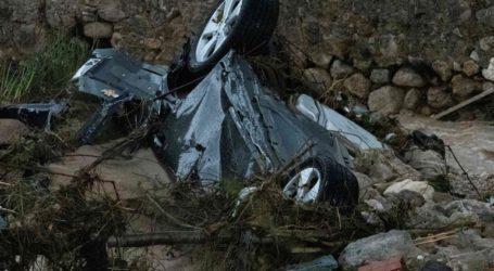Τρεις οι νεκροί από τις καταρρακτώδεις βροχές στην Ισπανία