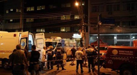 Τουλάχιστον 10 νεκροί από πυρκαγιά που ξέσπασε σε νοσοκομείο στο Ρίο