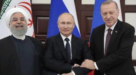 Τριμερής συνάντηση Πούτιν – Ερντογάν