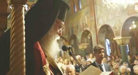 Ο Αρχιεπίσκοπος Ιερώνυμος στον Ι.Ν. Υψώσεως του Τιμίου Σταυρού Κυψέλης