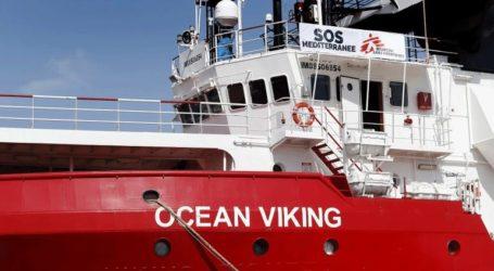 «Πράσινο φως» στο Ocean Viking να αποβιβάσει στη Λαμπεντούζα τους μετανάστες που έχει διασώσει
