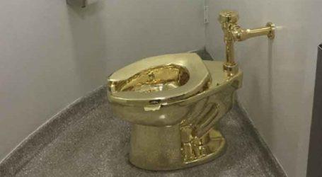 Εκλάπη μια λεκάνη τουαλέτας από χρυσό 18 καρατίων