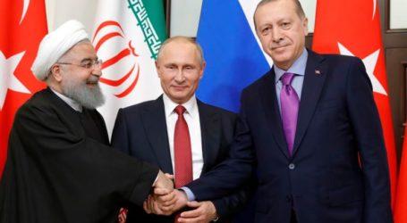 Συνάντηση Ερντογάν-Πούτιν-Ροχανί στην Άγκυρα