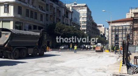 Κλείνει για τέσσερις μήνες το κάτω τμήμα της οδού Βενιζέλου