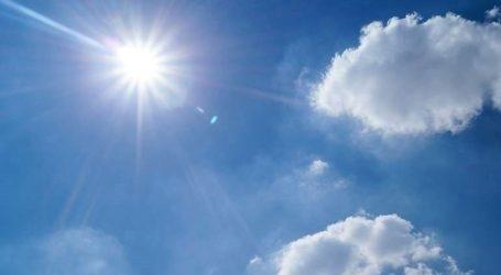 Άνοδος της θερμοκρασίας και εξασθένηση των ανέμων αύριο, Τρίτη