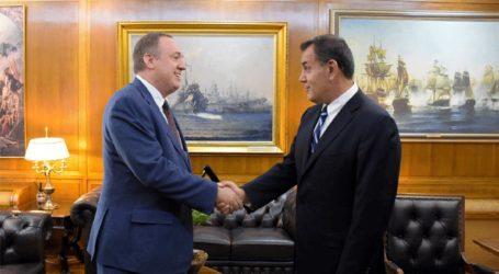Συνάντηση του υπ. Εθνικής Άμυνας με τον πρόεδρο του JINSA, Μάικλ Μακόφσκι