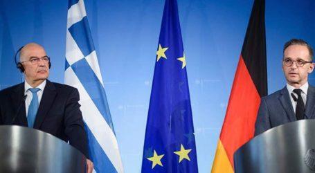 Υπέρ της ευρωπαϊκής προοπτικής των Δυτικών Βαλκανίων, τάχθηκαν Νίκος Δένδιας και Χάικο Μάας