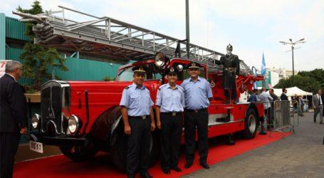 Ένα ιστορικό όχημα του Πυροσβεστικού Σώματος «ζωντάνεψε» στη Θεσσαλονίκη