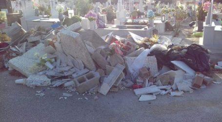 Εικόνες ντροπής στο νεκροταφείο του Σχιστού