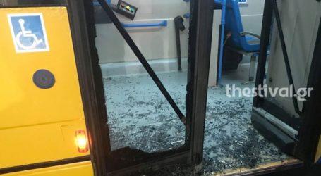 Θεσσαλονίκη: Άγριο ξύλο μεταξύ μεταναστών σε λεωφορείο του ΟΑΣΘ