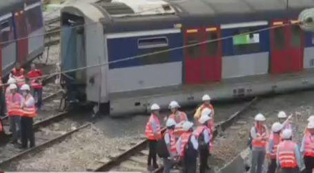 Οκτώ τραυματίες από εκτροχιασμό συρμού του μετρό