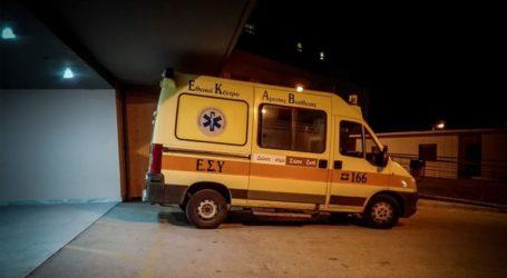Ένας νεκρός και δύο τραυματίες από σύγκρουση ΙΧ με μοτοσικλέτα στη Θεσσαλονίκη