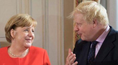 Μέρκελ και Τζόνσον συμφώνησαν να εργασθούν δραστήρια για μια συμφωνία για το Brexit