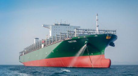 Το μεγαλύτερο πλοίο που διέσχισε ποτέ τη Διώρυγα του Παναμά
