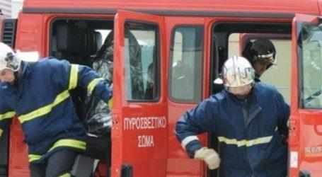 Ζάκυνθος: Πυρκαγιά στο χωριό Μαριές