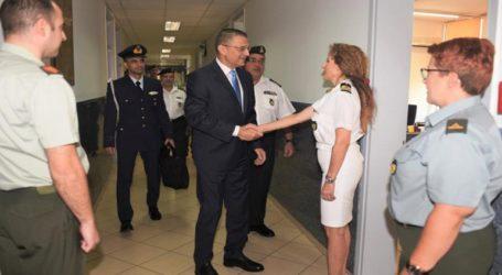 Επίσκεψη ΥΦΕΘΑ Αλκιβιάδη Στεφανή στην 1η Περιφερειακή Μονάδα Οικονομικής Επιθεώρησης