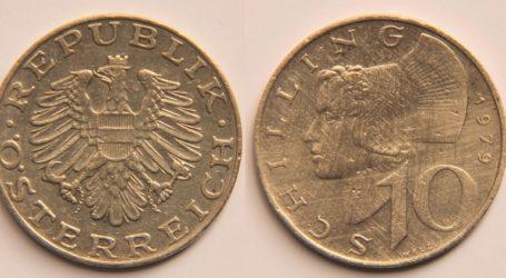 Περισσότερα από 500 εκατομμύρια ευρώ σε παλιό εθνικό νόμισμα «σελίνι» κυκλοφορούν ακόμη