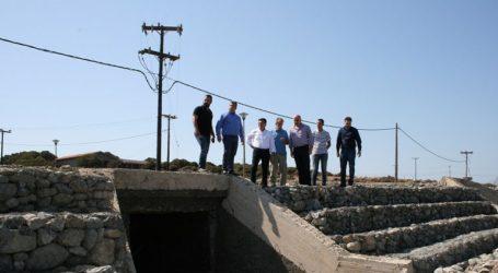 Έργα αποκατάστασης του οδικού δικτύου της Σαμοθράκης μετά τις καταστροφικές πλημμύρες
