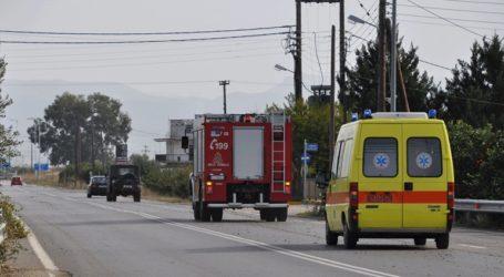 Φορτηγό με λύματα εξετράπη της πορείας του στην περιφερειακή όδο Διονύσου