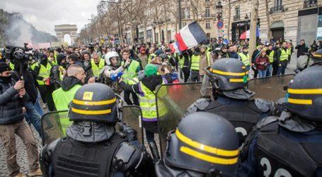 «Αστακός» το Παρίσι – Τουλάχιστον 7.500 αστυνομικοί για τις διαδηλώσεις των «κίτρινων γιλέκων»