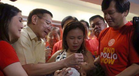 Δύο κρούσματα πολιομυελίτιδας στις Φιλιππίνες