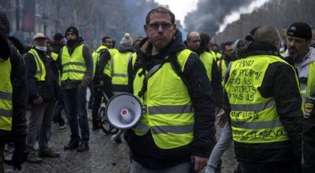 Πάνω από 100 συλλήψεις διαδηλωτών των «κίτρινων γιλέκων»