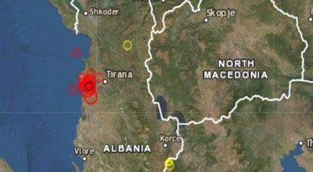Νέος σεισμός 4,8R στην Αλβανία
