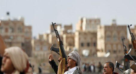 Οι υποστηρικτές των Χούθι γιόρτασαν τα πέντε χρόνια από την κατάληψη της Σανάα