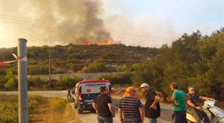 Πυρκαγιά στην Κάλυμνο