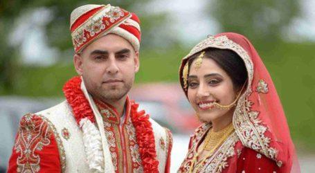 Μια νεαρή γυναίκα αντέστρεψε τους ρόλους της νύφης και του γαμπρού στον γάμο της