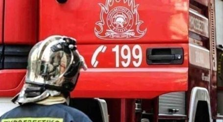 Φωτιά σε στύλο της ΔΕΗ στο Ηράκλειο