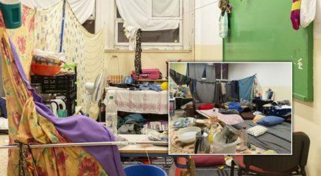 Η εκκένωση του κτηρίου στα Εξάρχεια σε εικόνες