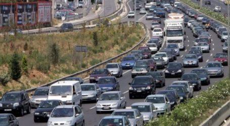 Iδιαίτερα αυξημένη η κίνηση σε βασικούς οδικούς άξονες λόγω της απεργίας