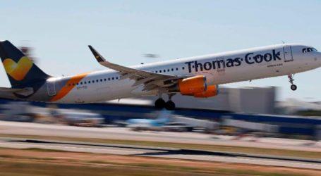Με οκτώ πτήσεις αναχωρούν τουρίστες με συμβόλαια της Thomas Cook
