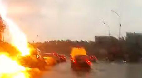 Διπλό χτύπημα κεραυνού σε αυτοκίνητο στη Ρωσία