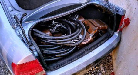 Συνελήφθησαν αλλοδαποί για κλοπή πηνίων από υποσταθμούς διανομής ηλεκτρικής ενέργειας