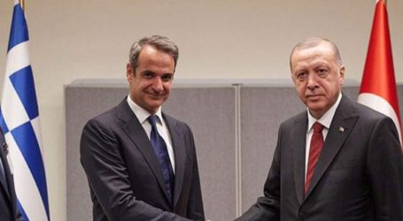 Oλοκληρώθηκε η συνάντηση Μητσοτάκη – Ερντογάν